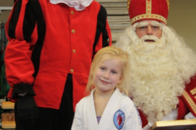 Sinterklaas komt langs bij JudoGoes