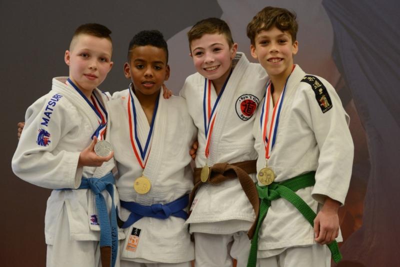 e2d00425865 Tristan Cairo Kampioen van Nederland - JudoGoes Nieuws - JudoGoes
