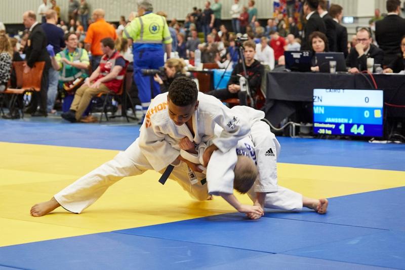 8fad3e893e2 Tristan wint zilver op NK Judo - JudoGoes Nieuws - JudoGoes