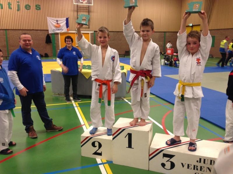 afb85c3a43c Mitchel Dekker tweede in GIlze - JudoGoes Nieuws - JudoGoes