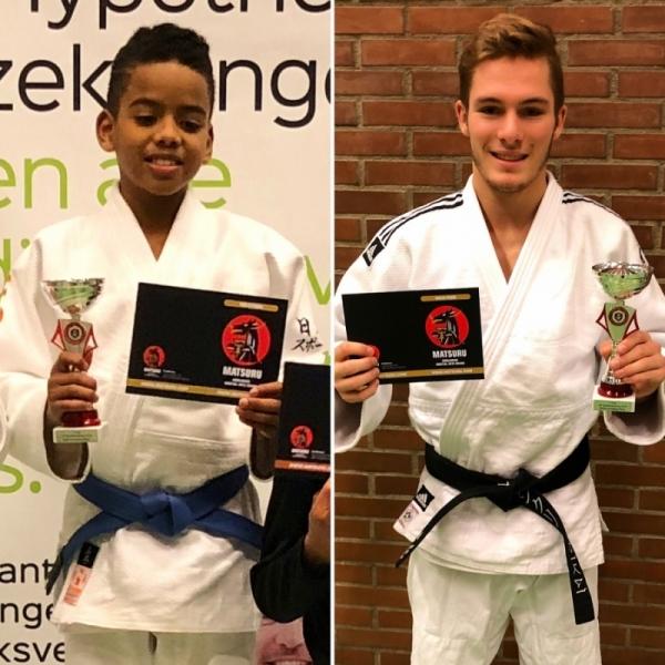 97905caeea5 Franklin en Tristan winnen in Rijen - JudoGoes Nieuws - JudoGoes