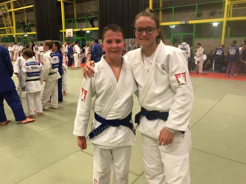 0473741e1c8 Joep en Lieke op stage in Koksijde - JudoGoes Nieuws - JudoGoes
