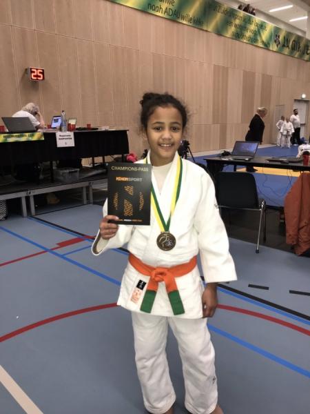 c563eeca3ae Nadia Kampioen en Kylian derde in Den Haag - JudoGoes Nieuws - JudoGoes