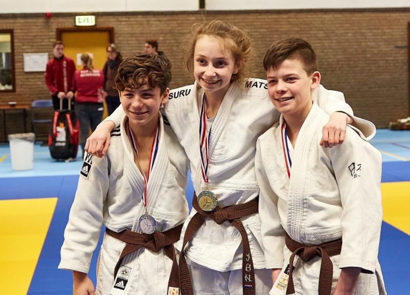 4315d23bf1d Francisca Buteijn kampioen van Zuid-Nederland - JudoGoes Nieuws ...